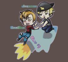 Bambam and Jackson One Piece - Short Sleeve