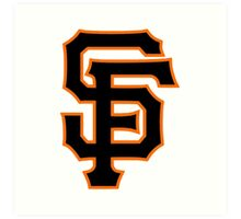 America's Game - San Francisco Giants Art Print