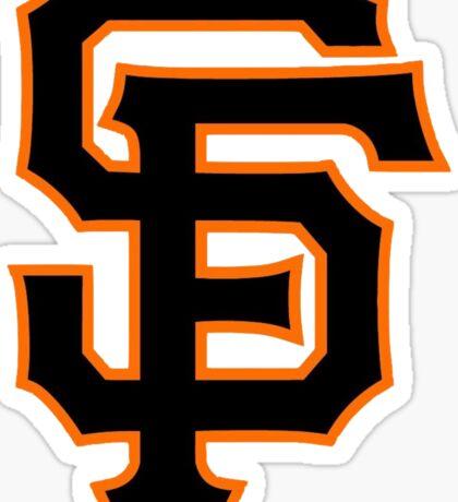 America's Game - San Francisco Giants Sticker