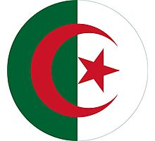 Algerian Air Force Roundel  Photographic Print