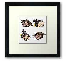 Mchanzo it up Framed Print