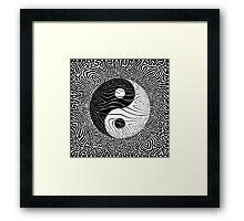 Black Line No.1  Framed Print