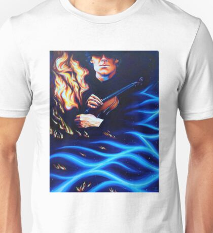 A Study in Liquid Heat Unisex T-Shirt