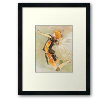 Haikyuu!! Spike Framed Print