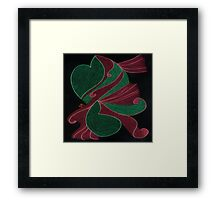 War of Hearts Framed Print