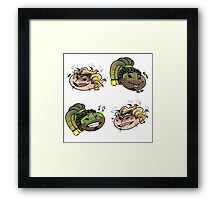 Boombox it up Framed Print