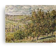 Claude Monet - Apple Blossom  Canvas Print