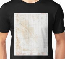 USGS TOPO Map Arizona AZ Coffeepot Mountain 310941 1990 24000 Unisex T-Shirt