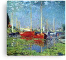 Claude Monet - Argenteuil 1875 Canvas Print