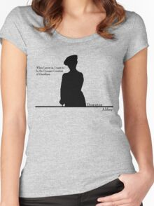 When I grow up, I want to be the Dowager Countess Women's Fitted Scoop T-Shirt