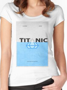 Titanic Women's Fitted Scoop T-Shirt