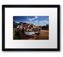 Abandoned 1957 Ford Fairlane Framed Print