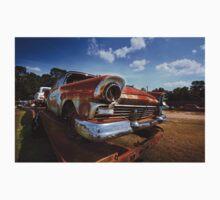 Abandoned 1957 Ford Fairlane Kids Tee