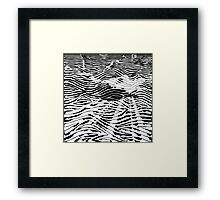 Black Line No. 4 Framed Print