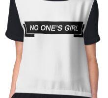 NO ONE'S GIRL Chiffon Top