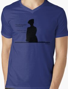 Stop whining and find something to do Mens V-Neck T-Shirt