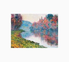 Claude Monet - Banks Of The Seine At Jenfosse Clear Weather Unisex T-Shirt
