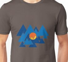Mountain Geo Unisex T-Shirt