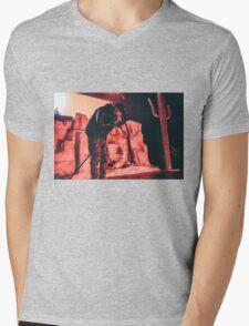 TRAVI$ Mens V-Neck T-Shirt
