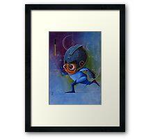 Megaman Rockman Nintendo Framed Print