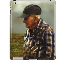 A Lifetime in the Fields iPad Case/Skin