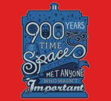 900 Years of Time & Space One Piece - Short Sleeve