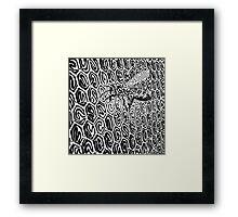 Black Line No. 11 Framed Print