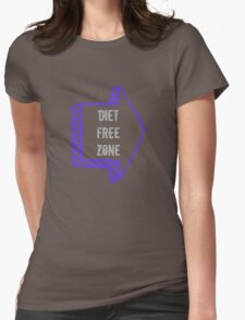 Diet Free Zone Womens Fitted T-Shirt