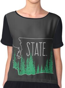 Washington State Chiffon Top