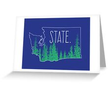 Washington State Greeting Card