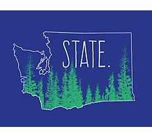 Washington State Photographic Print