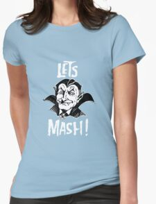 Let's Mash, Dracula Womens Fitted T-Shirt