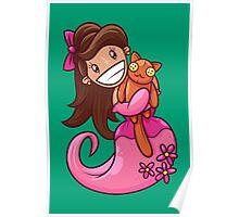 Princess and Kitty Poster