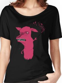 Bad Explanation Art Dog Women's Relaxed Fit T-Shirt