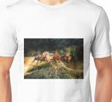 Horses and waves Unisex T-Shirt