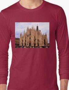 Milan Cathedral Long Sleeve T-Shirt