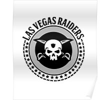 Las Vegas Raiders - Future Oakland Pro Football Team Poster