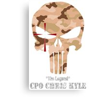The Punisher-Chris Kyle Canvas Print