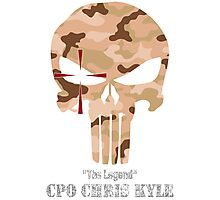 The Punisher-Chris Kyle Photographic Print