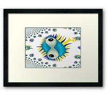 The Eyes of Mandelbrot Framed Print