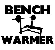 Bench Warmer Photographic Print