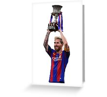 Lionel Messi - FC Barcelona Greeting Card