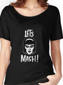 Goth Chic, Let's Mash Women's Relaxed Fit T-Shirt