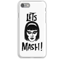 Goth Chic, Let's Mash iPhone Case/Skin
