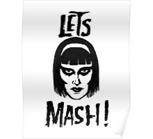 Goth Chic, Let's Mash Poster