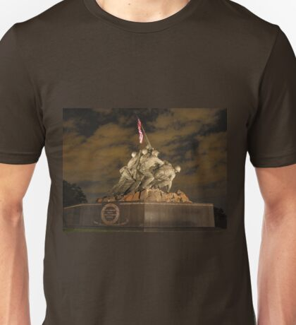 United States Marine War Memorial Unisex T-Shirt