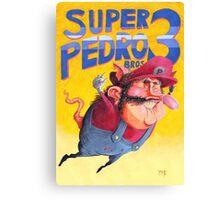 Super Mario / Super Pedro Nintendo Canvas Print