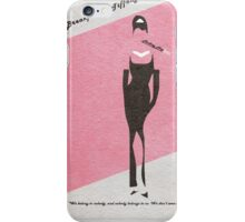 Breakfast at Tiffany's iPhone Case/Skin