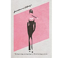 Breakfast at Tiffany's Photographic Print
