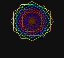 Hexagon Mandala - Sacred Geometry Symbol Women's Relaxed Fit T-Shirt